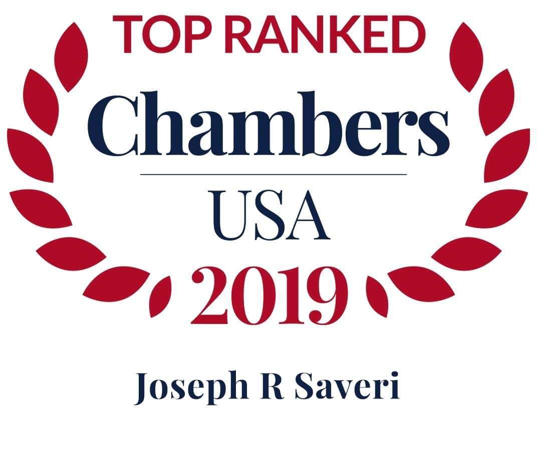 2019 Joseph Saveri Chambers Badge