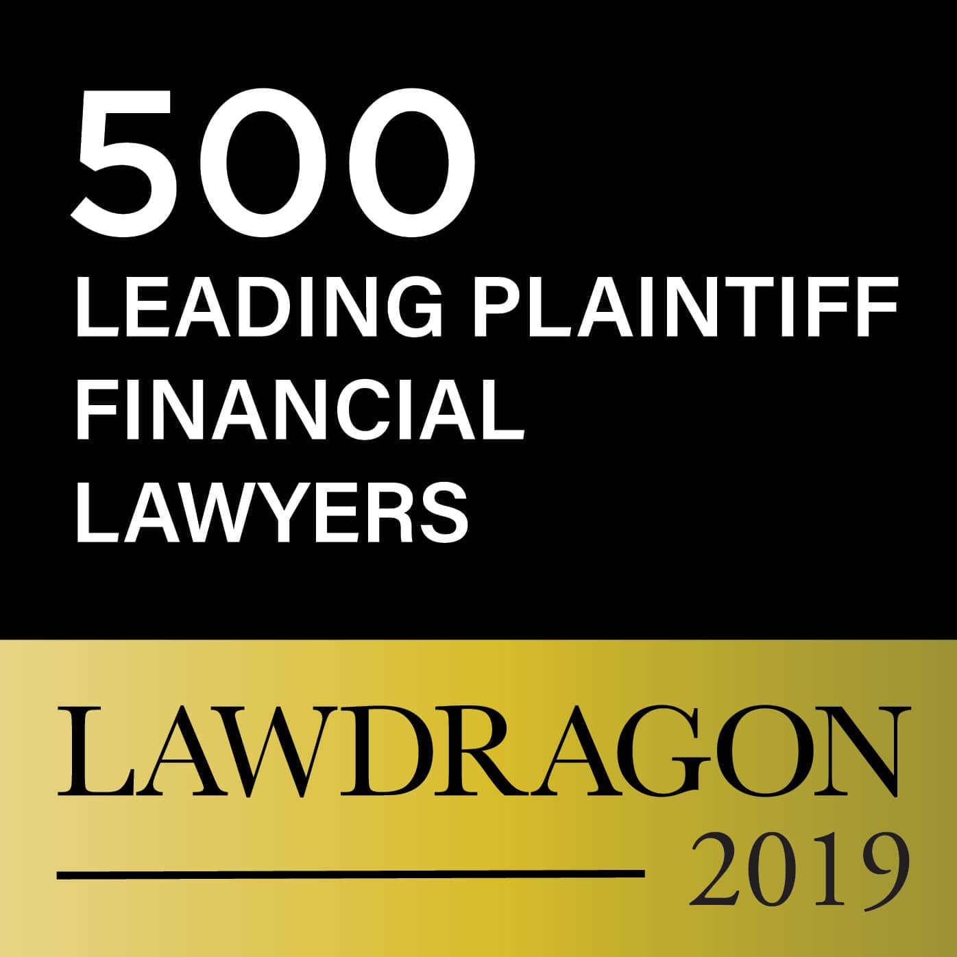2019 LD Plantiff Financial Lawyer