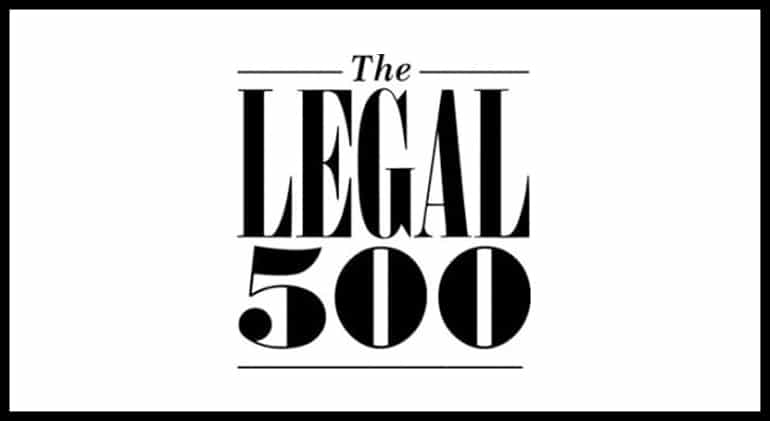 "The Legal 500: Recognized 2019 in ""United States Antitrust Civil Litigation/Class Actions: Plaintiff"" Category"